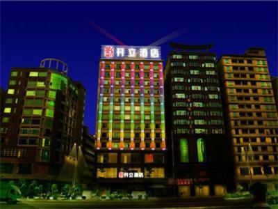 东莞长安开立酒店地图
