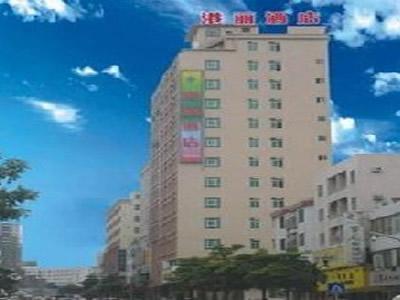 东莞长安港丽酒店地图