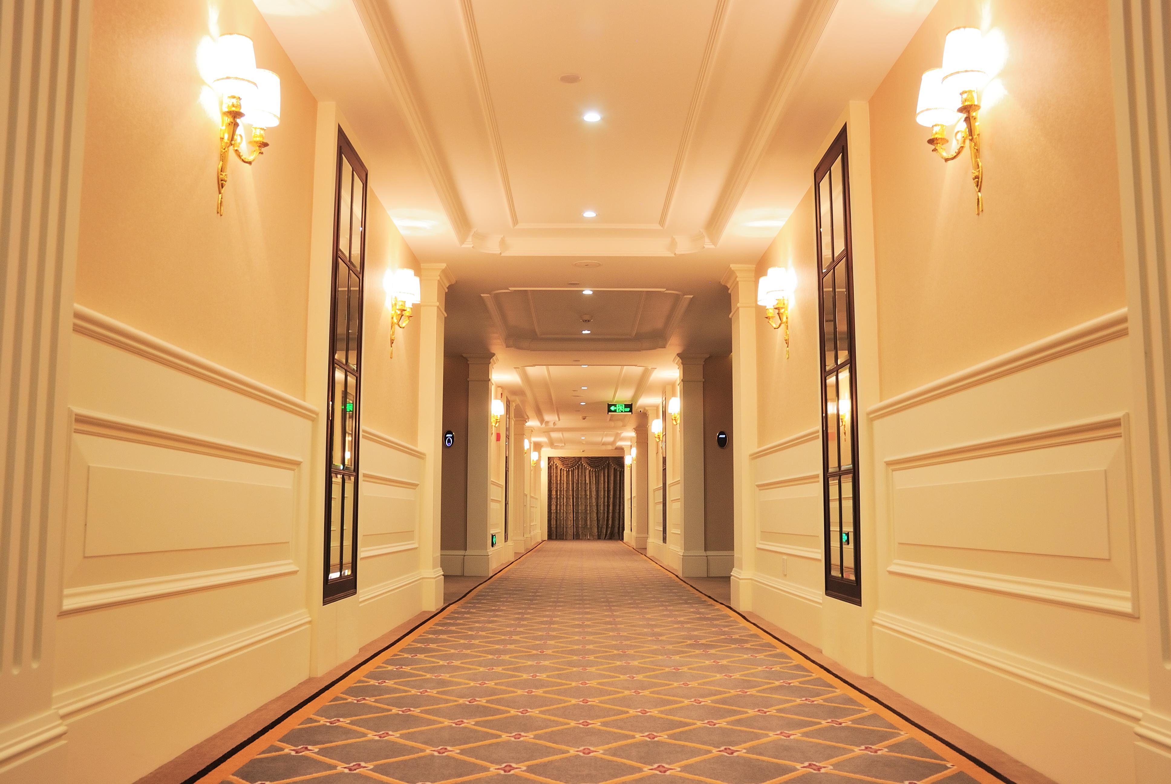客房走廊酒店过道效果图高清图片