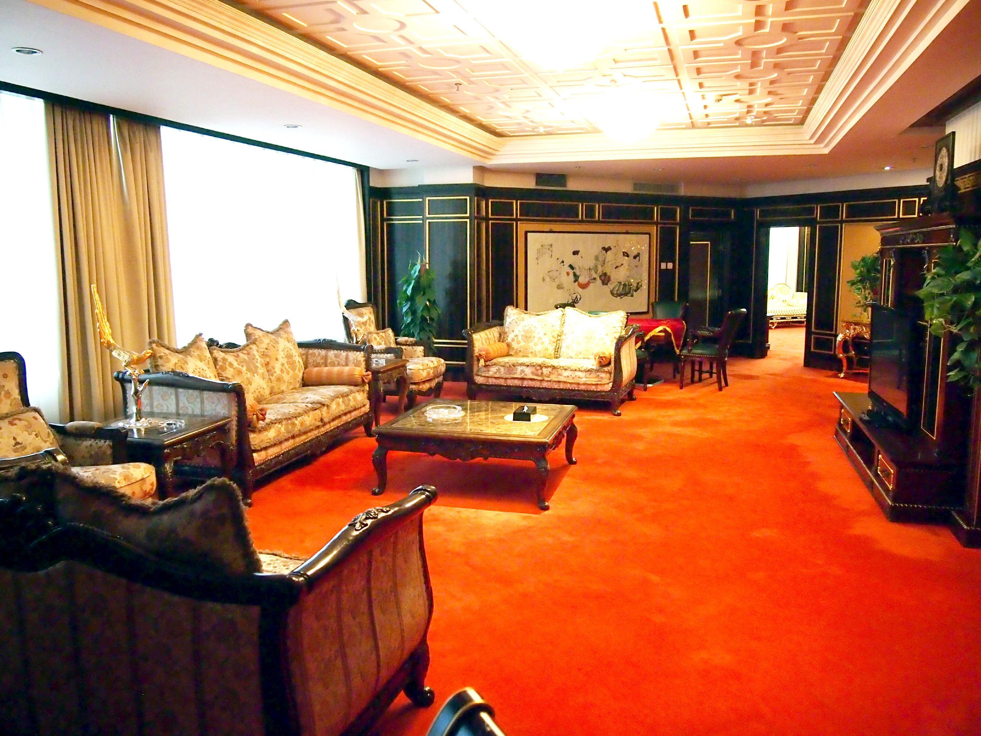 青岛海景花园大酒店 总统套