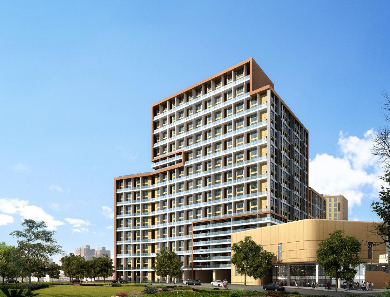 青岛大拇指广场深蓝复式公寓