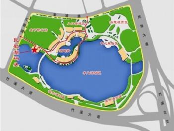 学校竹园设计平面图