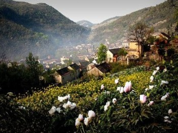 芜湖丫山风景区冬天