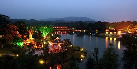 理由3 绿岛旅游山庄坐落于潮州市饶平县钱东镇,占地面积1000多亩,依山