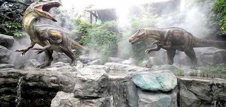 常州中华恐龙园景点图片