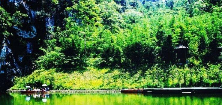 贵州龙宫风景区是以暗河溶洞
