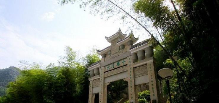 中国茶山竹海国家森林公园图片